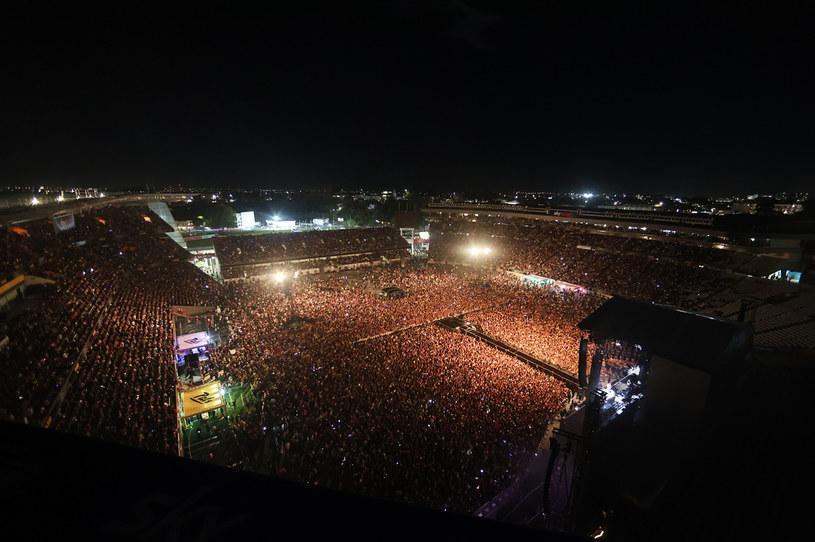 W koncercie wzięło udział 50 tysięcy osób /Fiona Goodall/Getty Images /Getty Images