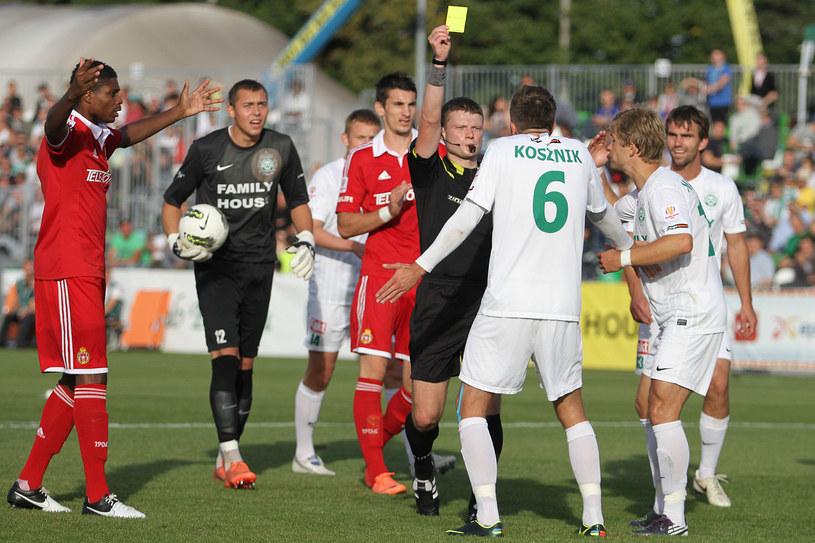 W końcówce meczu było bardzo nerwowo /Andrzej Grupa /INTERIA.PL