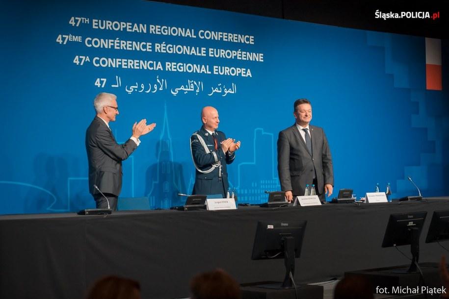 W konferencji wzięło udział ponad 170 uczestników z 55 krajówz /Śląska policja /