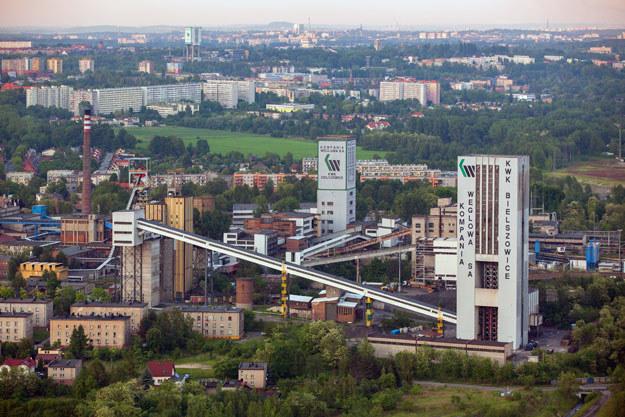 W kopalni Bielszowice w Rudzie Śląskiej wykryto w niej pożar endogeniczny /Wojciech Wójcik /Agencja FORUM