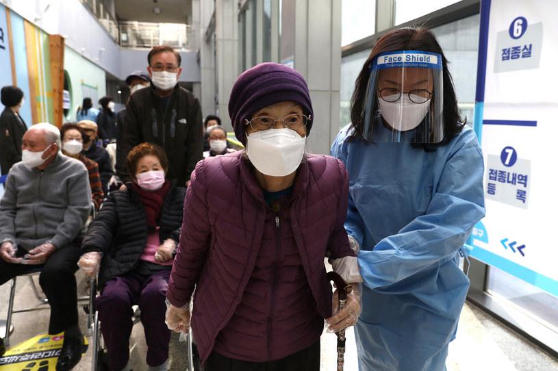 W Korei Południowej trwa kampania szczepień /AFP