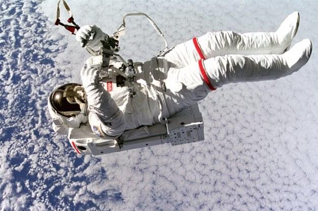 W kosmosie nic się nie zmarnuje - nawet śmieci /NASA