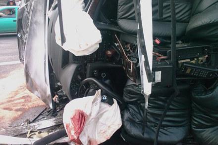 W koszmarnym wypadku BMW na ulicy Bora Komorowskiego w Krakowie zginęły dwie osoby /INTERIA.PL