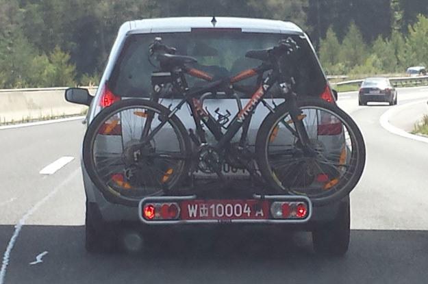 W krajach Europy Zachodniej problemu z bagażnikami na rowery nie ma /INTERIA.PL