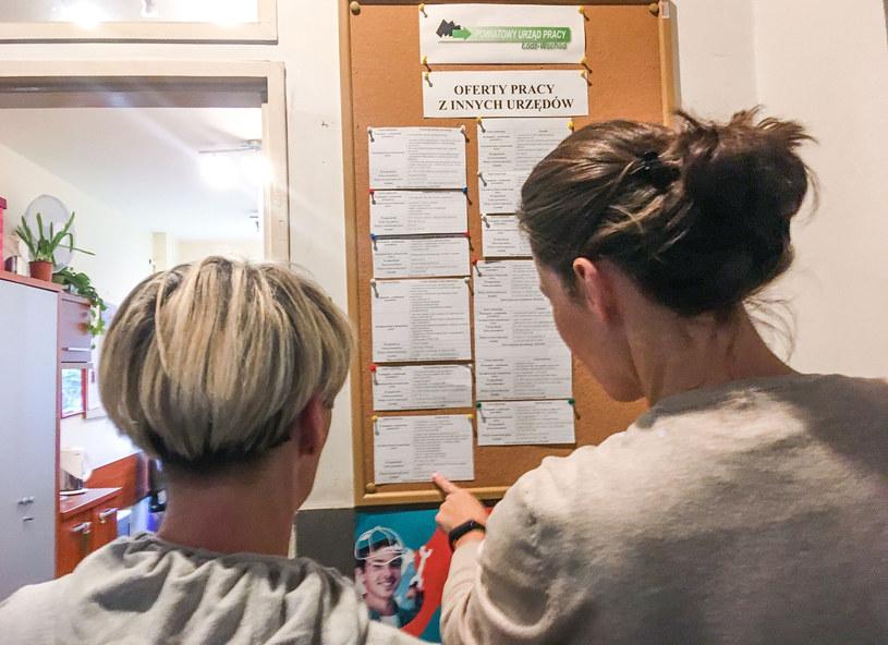 W kraju pod koniec sierpnia zarejestrowanych było 1,029 mln bezrobotnych /Piotr Kamionka /Reporter