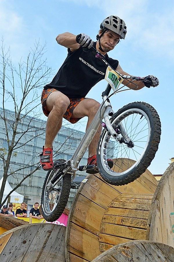 W Krakowie odbędą się zawody PŚ w trialu rowerowym /Informacja prasowa