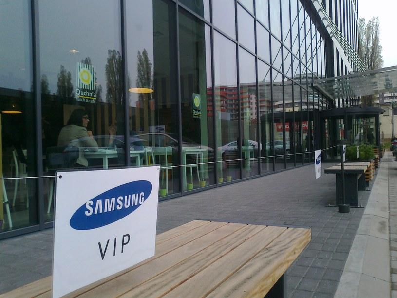 W Krakowie otwarto dzisiaj Centrum Badawczo-Rozwojowe Samsung Polska /Krzysztof Mrówka /INTERIA.PL