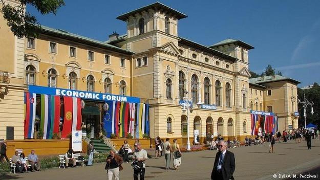 W Krynicy rozpoczyna się XXVII Forum Ekonomiczne (zdj. archiwalne) /Deutsche Welle