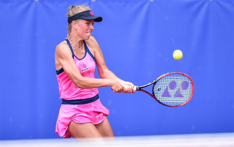 W kwalifikacjach do turnieju głównego w Palermo weźmie także udział Magdalena Fręch /Łukasz Sobala /Newspix