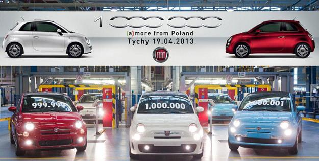 """W kwietniu br. fabryka Fiata w Tychach świętowała produkcję milionowej """"pięćsetki"""" /"""