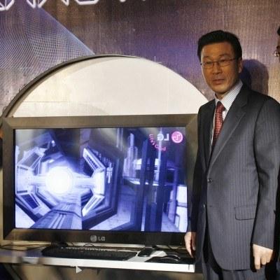 W kwietniu w fabryce koreańskiej firmy LG w Kobierzycach ruszy produkcja telewizorów 3D /AFP