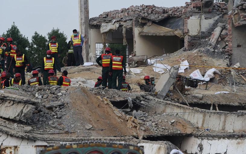 W Lahore trwa akcja poszukiwawcza /Arif Ali / AFP /AFP