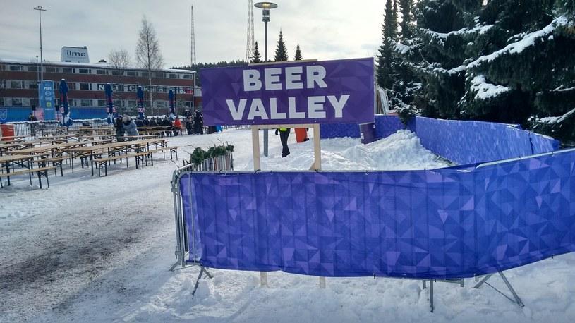 W Lahti jest czas i miejsce na piwo... /INTERIA.PL