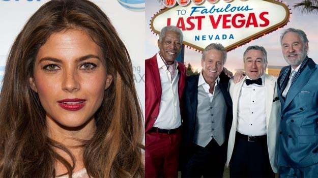 """W """"Last Vegas"""" Rosati zagrała epizod kelnerki. Usługiwać takim gwiazdom to jednak zaszczyt! /Getty Images/Flash Press Media"""