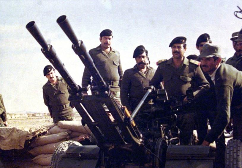 W latach 80-tych Saddam Husejn gotów był wykorzystać przeciwko swoim wrogom każdą broń. /AFP