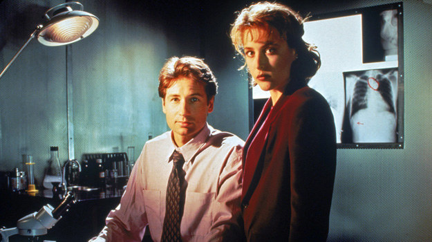 W latach 90. romans między głównymi bohaterami rozgrzewał nas do czerwoności. Czy po latach uda się wskrzesić chemię między agentami? /AKPA