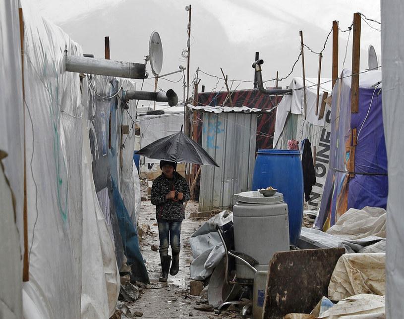 W Libanie przebywa ponad milion uchodźców z Syrii /JOSEPH EID  /AFP