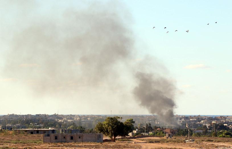 W Libii wciąż jest niespokojnie /AFP