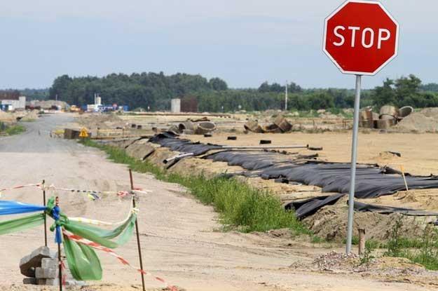 W lipcu prace na A2 mają być wznowione. Fot. Wojciech Traczyk (East News) /
