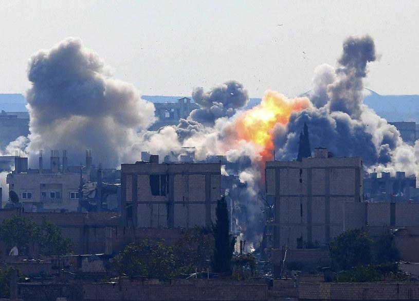 W listopadzie na cele Państwa Islamskiego w Syrii i Iraku - wynika ze statystyk Centralnego Dowództwa - zrzucono 3227 bomb /Getty Images