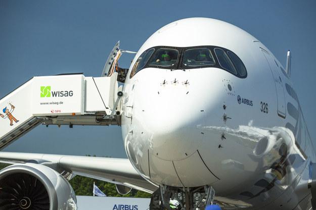 W Łodzi będą produkowane części do samolotu Airbus A350 /123RF/PICSEL
