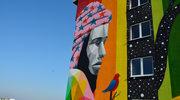 W Łodzi powstał jubileuszowy mural Erasmus Student Network Polska