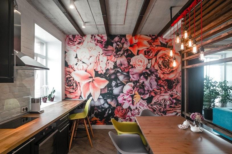W loftowym wnętrzu fototapeta może się stać najbardziej stylową ozdobą pomieszczenia /materiały promocyjne