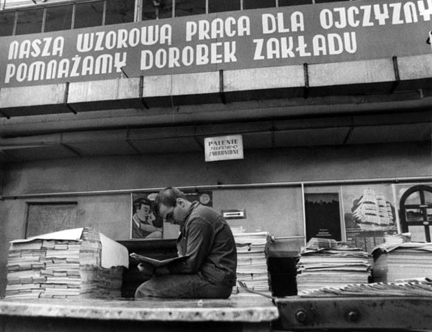 W ludowej Polsce w specyficzny sposób podchodzono do praw pracownika /Robert Król /Reporter