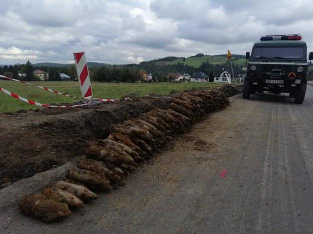 W Małopolsce odnaleziono 250 pocisków /KPP Gorlice /