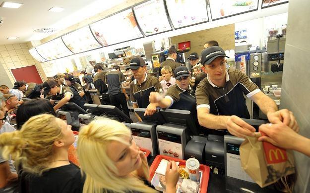 W McDonald's można dostać darmową książkę /AFP