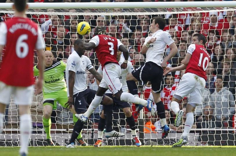 W meczach Arsenalu z Tottenhamem emocji nie brakuje /AFP