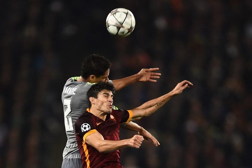 W meczu AS Roma - Real Madryt więcej było walki niż ładnej gry /AFP