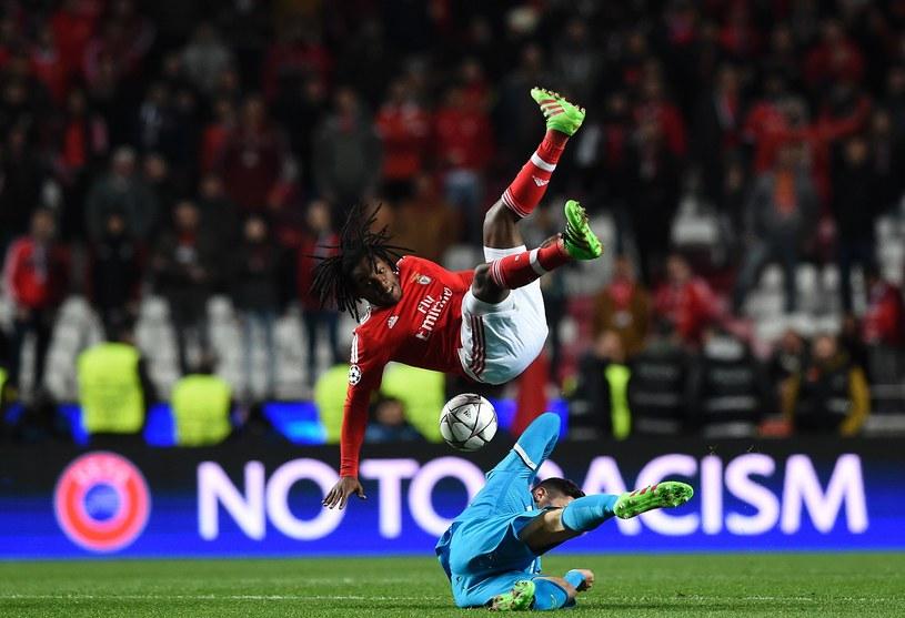 W meczu Benfica - Zenit było dużo walki, ale mało efektownej gry /AFP
