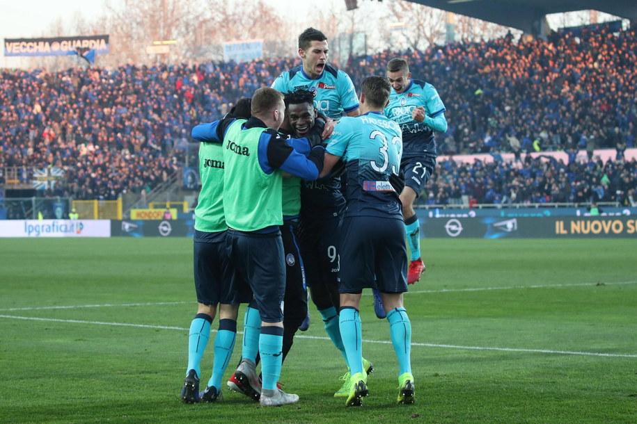 W meczu Juventus - Atalanta Wojciech Szczęsny puścił dwie bramki /PAOLO MAGNI  /PAP/EPA