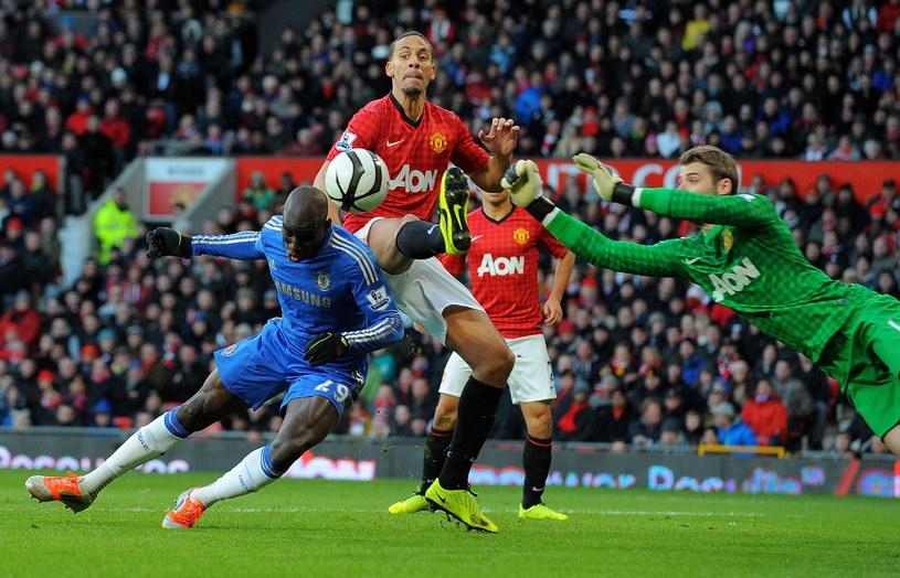 W meczu Manchesteru United z Chelsea Londyn nie brakowało gorących spięć /AFP