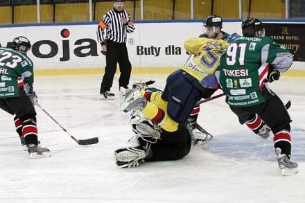 W meczu Podhala z Naprzodem emocji nie zabraknie, fot: Tadeusz Bącal /INTERIA.PL
