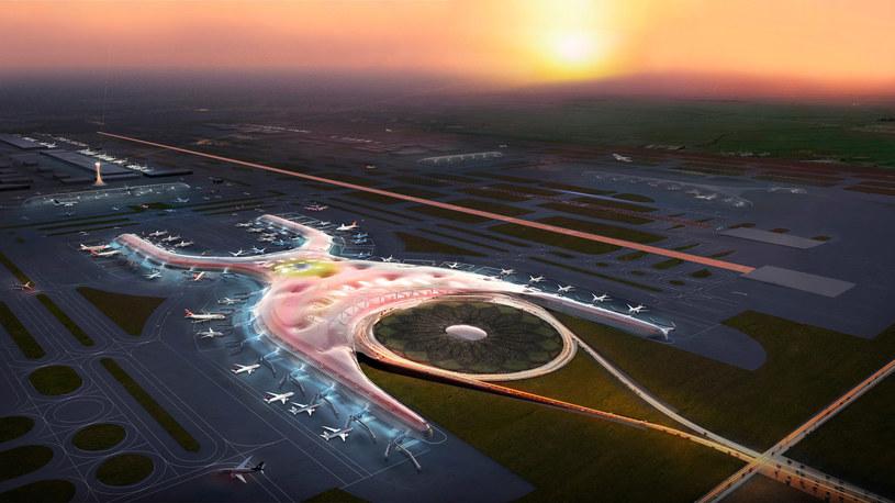 W Mexico City powstanie lotnisko przyszłości? /Fot. Foster + Partners /materiały prasowe