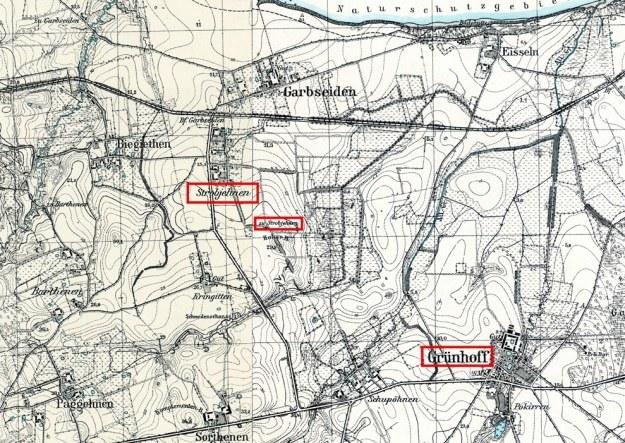 W miejscowości Grünhof, w dworku, ulokowano młodzież i personel szkoły, zaś w Strohbienen najmłodszych. /Odkrywca /Odkrywca