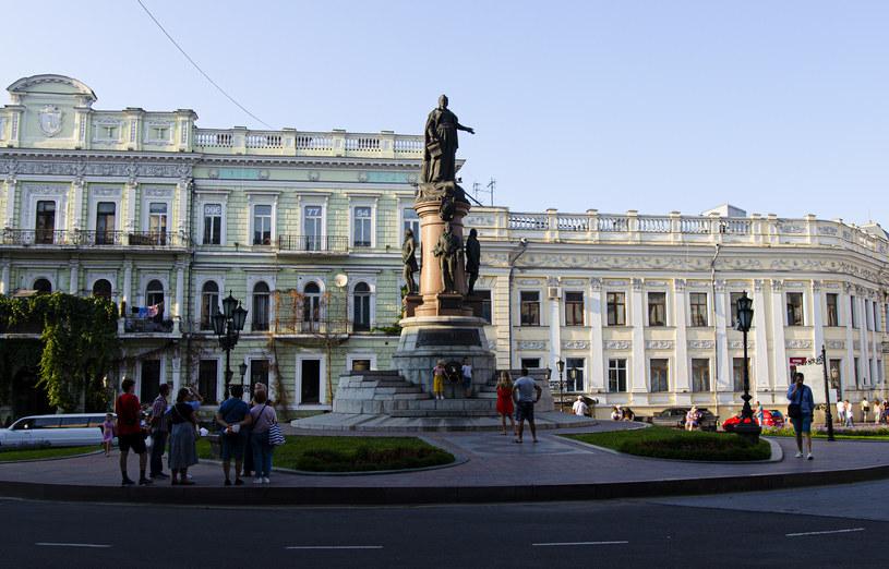 W mieście można znaleźć wiele pomników, które opowiadają o bogatej historii Odessy /Agnieszka Maciaszek /archiwum prywatne