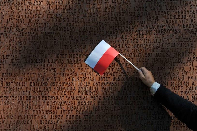 W milczeniu oddadzą hołd ofiarom zbrodni katyńskiej /AFP