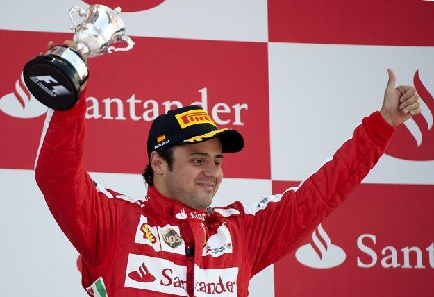 W miniony weekend Massa stanął na podium w Barcelonie /AFP
