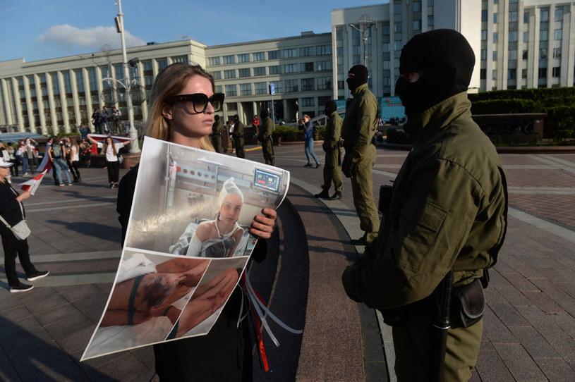 W Mińsku planowany kolejny protest – Marsz Jedności /STRINGER /PAP/EPA