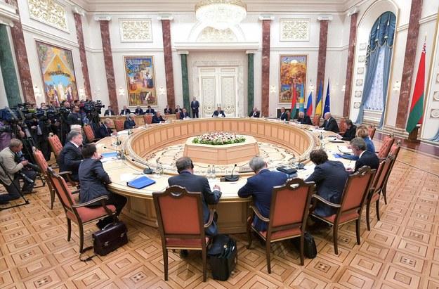 W Mińsku trwa spotkanie na szczycie Ukraina-Unia Europejska -Unia Celna /Lazarenko Nikolai    /PAP