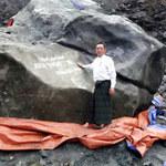 W Mjanmie wydobyto jadeit wielkości mamuta