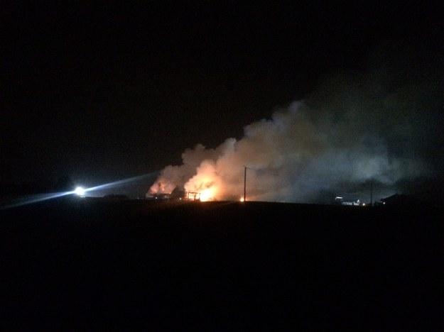 W momencie wybuchu słychać było wielki huk. /Mateusz Chłystun /RMF FM