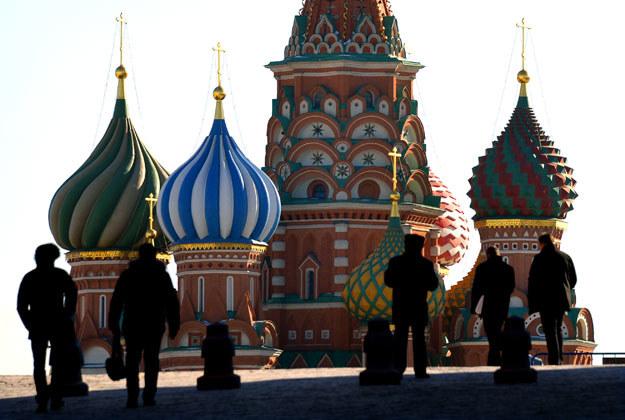 """W Moskwie nie chcą """"kolorowej rewolucji"""" /AFP"""
