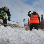 W Moskwie z powodu śniegu utworzyły się korki długie na 3500 km