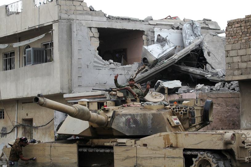 W Mosulu wciąż trwają walki /AFP