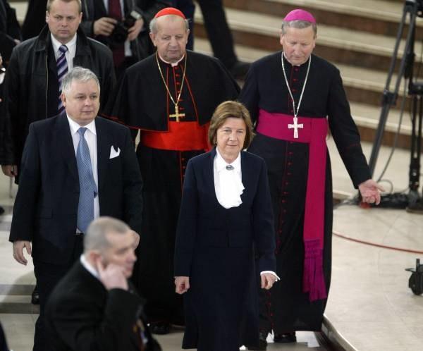 W mszy św. w Łagiewnikach uczestniczyli m.in. prezydent; fot. A. Barbarowski /Agencja SE/East News