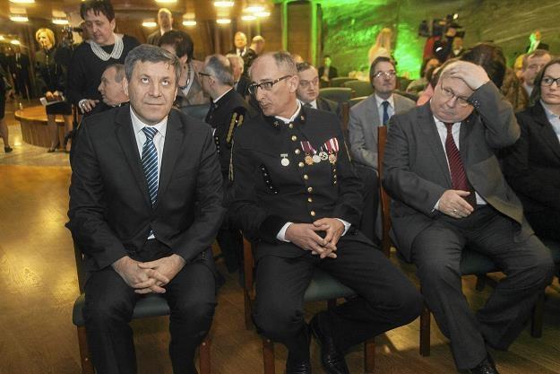 W mundurze Kajetan d'Obyrn. Fot. Jakub Ociepa  Agencja Gazeta /